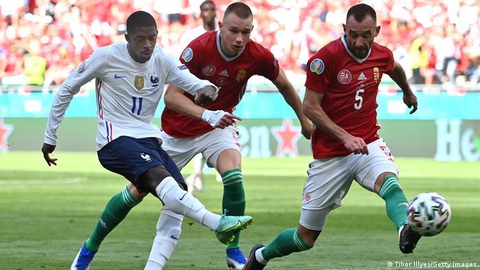 Ungarn Budapest   UEFA EURO 2020   Ungarn vs Frankreich   Ousmane Dembele