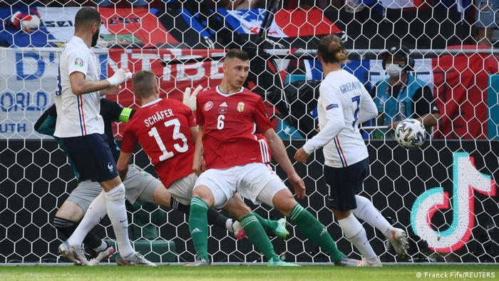 Ungarn Budapest | UEFA EURO 2020 | Ungarn vs Frankreich | Tor 1:1