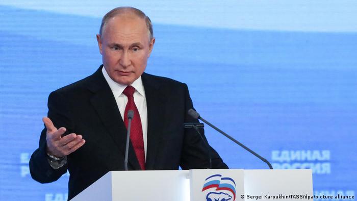 Russland | Parteikongress United Russia Party | Rede Wladimir Putin