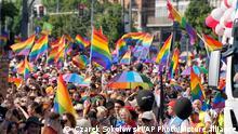 Polen | LGBT Parade in Warschau