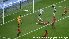 MUNICH, GERMANY - JUNE 19: Kai Havertz of Germany scores their side's third goal past Rui Patricio of Portugal during the UEFA Euro 2020 Championship Group F match between Portugal and Germany at Football Arena Munich on June 19, 2021 in Munich, Germany. (Photo by Matthias Hangst/Getty Images)