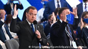 Russland | Parteikongress United Russia Party | Dmitri Medwedew