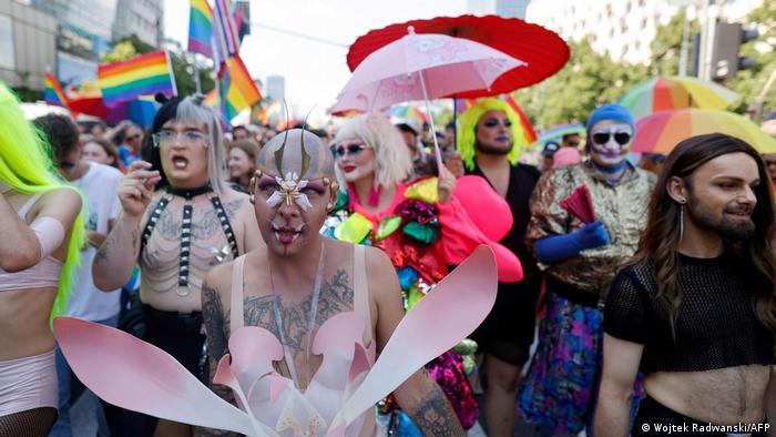 Гей-парад в Варшаве, 19 июня 2021 года