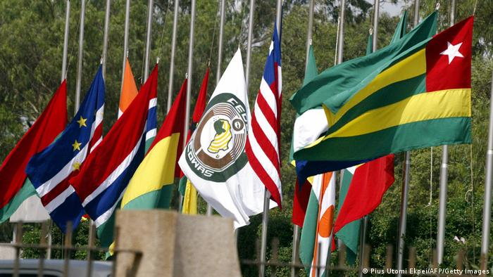 Flags of ECOWAS member states