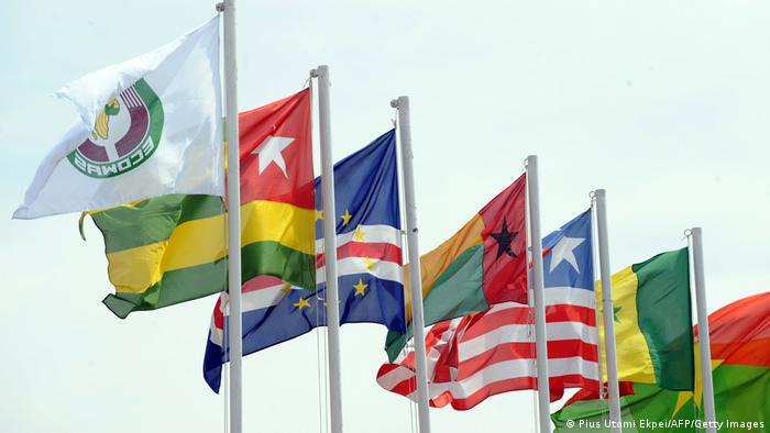 Banderas del ECOWAS en una imagen de archivo.