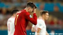 Spanien Sevilla   UEFA EURO 2020   Spanien vs Polen   Alvaro Morata