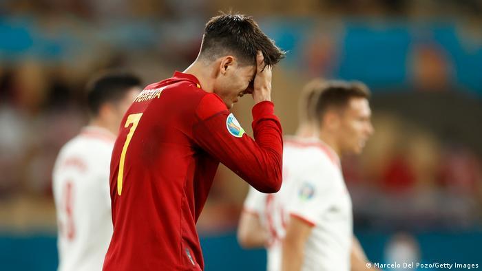 Spanien Sevilla | UEFA EURO 2020 | Spanien vs Polen | Alvaro Morata