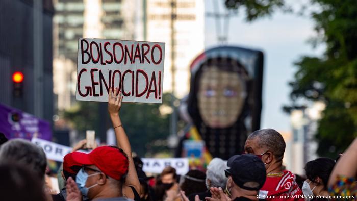 Protesto na Avenida Paulista, em São Paulo: termômetro das manifestações