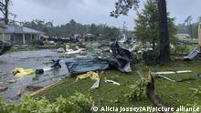 USA Sturm Claudette in Alabama