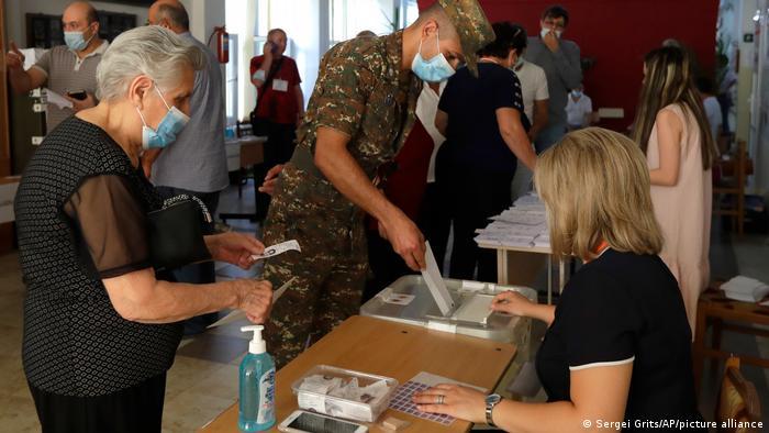 Armenien Jerewan Parlamentswahlen | Stimmabgabe