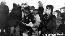 Europäische Geschichte | Zweiter Weltkrieg | Vertriebene aus Polen, Ankunft in Deutschland