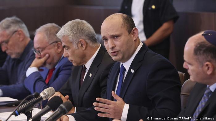 هشدار نفتالی بنت به دولت لبنان در جلسه کابینه این کشور، یکشنبه هشتم اوت ۲۰۲۱
