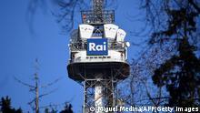 Italien Mailand | Sendemast der RAI