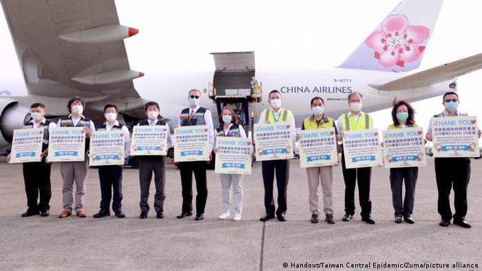 美国政府捐赠台湾250万剂莫德纳疫苗,这是先前承诺之75万剂的3倍多