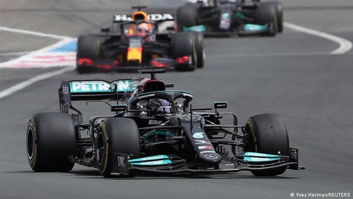 F1 Großen Preis von Frankreich   Lewis Hamilton
