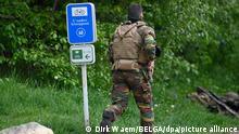 Belgien Maasmechelen | Suche nach bewaffnetem Mann, Drohung gegen Virologen