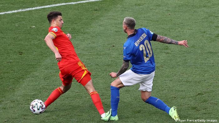 Збірна Італії перемогла команду Уельсу у Римі