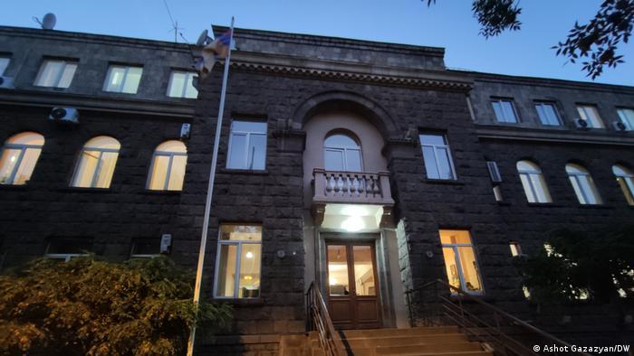 Gebäude der Zentralen Wahlkommission in Eriwan