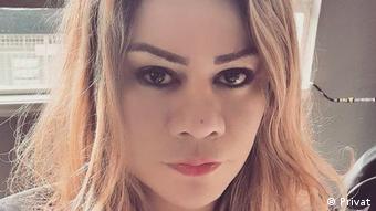 Yoko, Leiterin Red Comunitaria Trans aus Kolumbien