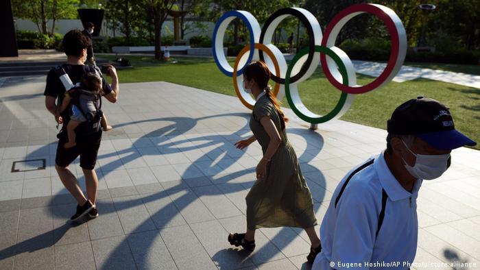 Japan Olympische Ringe