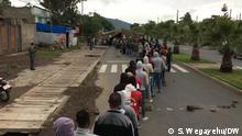 Parlamentswahl in Äthiopien in der Stadt Hawassa Datum : 21.06.21 Copy right: S. Wegayehu ( DW Korri)