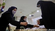 Iran Präsidentschaftswahlen 2021 |Stimmenzählung in Teheran