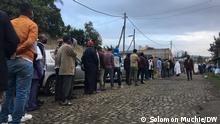 Election & Voting in Addis Abeba DW, Solomon Muchie Datum 210621