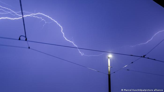 Молния в Дюссельдорфе