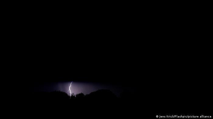 Молния в Кельне