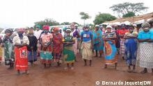 Vertriebene Familien im Bezirk Gondola, Provinz Manica, Mosambik. Ort: Manica, Mosambik Fotograf: Bernardo Jequete/DW Datum: Juni 2021 Schlagworte: Vertriebene, deslocados, Mosambik, Manica, Gondola