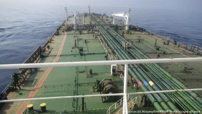 یکی از نفتکشهای ایران