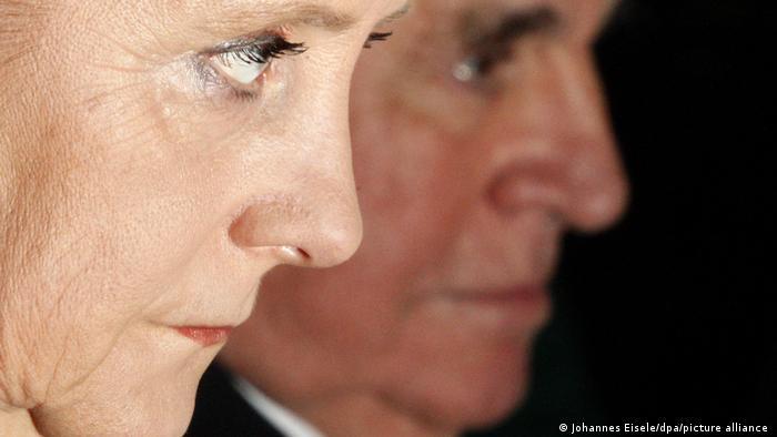 Angela Merkel i Helmut Kol, Berlin 2007.