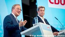 CDU / CSU Wahlprogramm 2021 Armin Laschet Markus Söder Angela Merkel