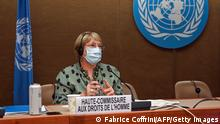 Schweiz Genf | Michelle Bachelet, UN-Menschenrechtskommissarin