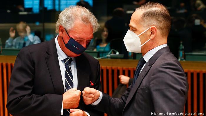Spotkanie szefów dyplomacji krajów UE w sprawie nałożenia sankcji na Białoruś
