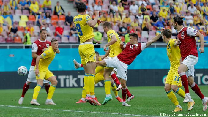 EURO 2021 | Ukraine vs Österreich | 1:0 Baumgartner