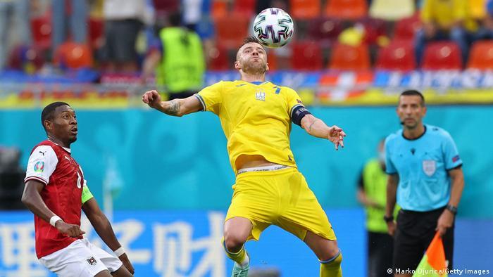 Збірна України програла збірній Австрії й вилетіла з Євро-2020