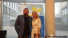 Una Hajdari i Dragan Bursać