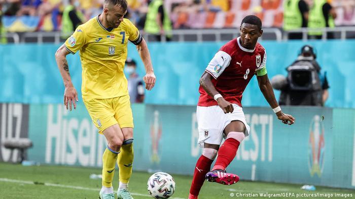 Fussball Europameisterschaft | Österreich v Ukraine