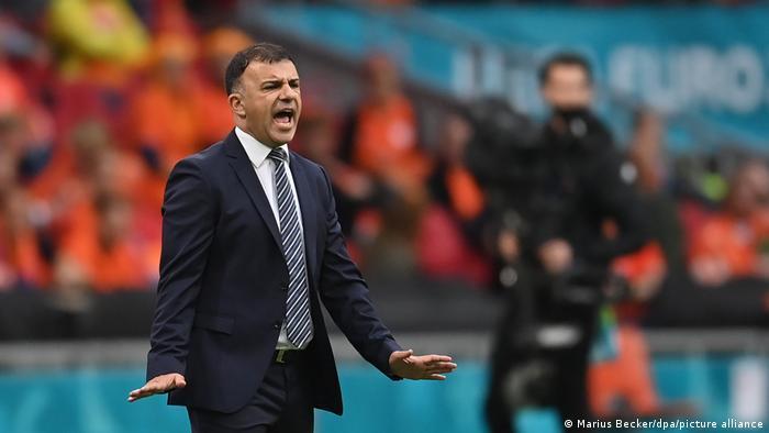 Fußball Trainer Nordmazedonien Igor Angelovski
