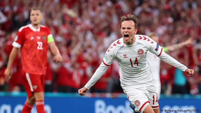 EURO 2021 | Russland vs Dänemark | Tor Damsgaard