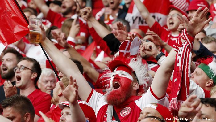 EURO 2021 | Russland vs Dänemark | Fans