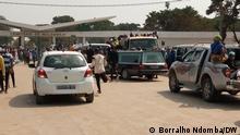 In Luanda, der Hauptstadt Angolas, steigen die Sargverkäufe aufgrund der hohen Zahl von Todesfällen durch Malaria. 2. Credits: Borralho Ndomba/DW 3. Wann wurde das Bild gemacht: 21.06.2021 4. Wo wurde das Bild aufgenommen: Luanda / Angola