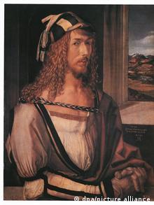 Selbstporträt von Albrecht Dürer.