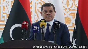 Ο πρωθυπουργός της προσωρινής κυβέρνησης στη Λιβύη