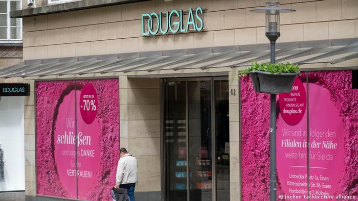 Филиал Douglas в центре Эссена закрылся