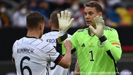 Deutschland - Lettland EURO2020 Manuel Neuer Joshua Kimmich