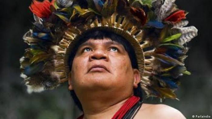 Brasilien Indigenenführer Almir Narayamoga