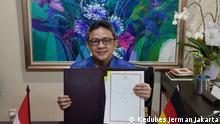 Vereinbarung zwischen Indonesien und Deutschland