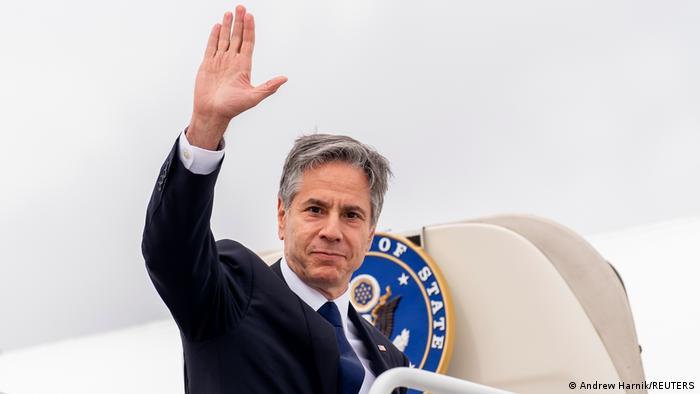 USA US Außenminister besucht Berlin - Abflug